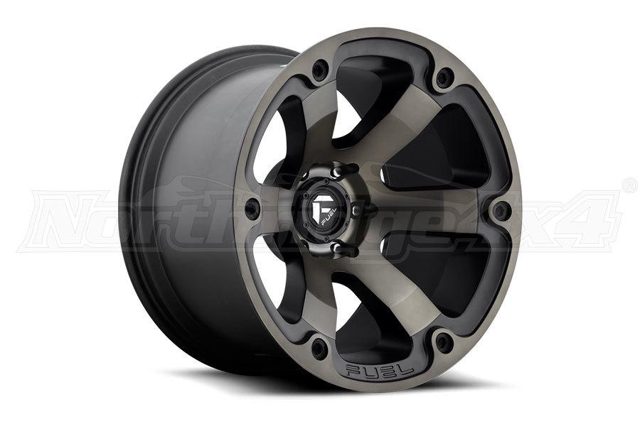 MHT Luxury Alloys Beast Series Wheel Black 17x9 5x5 (Part Number:D56417907350)