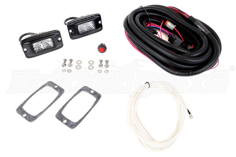 Rigid Industries SR-M Series Hybrid/Diffused Back Up Light Kit (Part Number:980013)