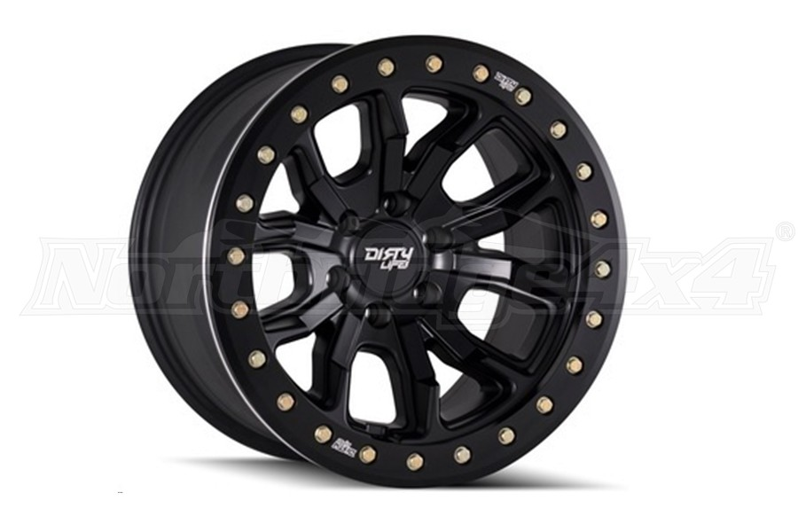 Wheel-1 Dirty Life DT1 Series Wheel Matte Black 17x9 5x5 (Part Number:9303-7973MB38)