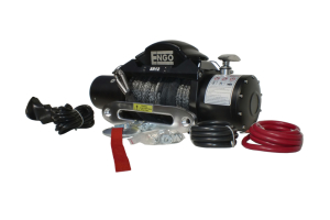 ENGO SR Series Winch w/Synthetic Rope 12,000lb (Part Number: )