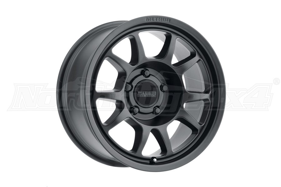 Method Race Wheels MR702 Matte Black Wheel 17x8.5 5x5   - JT/JL/JK
