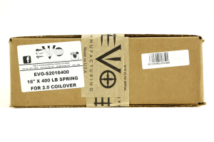 EVO Manufacturing King 2.5 16x400lbs Spring (Part Number: )