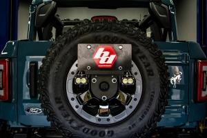 Baja Designs Dual S2 Sport W/C Reverse Kit w/ License Plate Mount - Ford Bronco