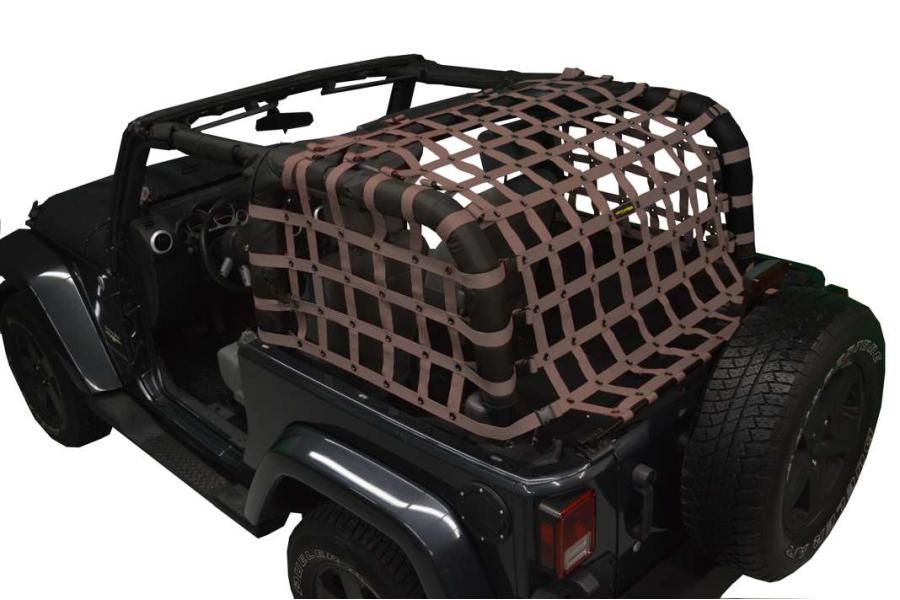 Dirty Dog 4x4 Rear Netting Sand (Part Number:J2NN07RCSD)