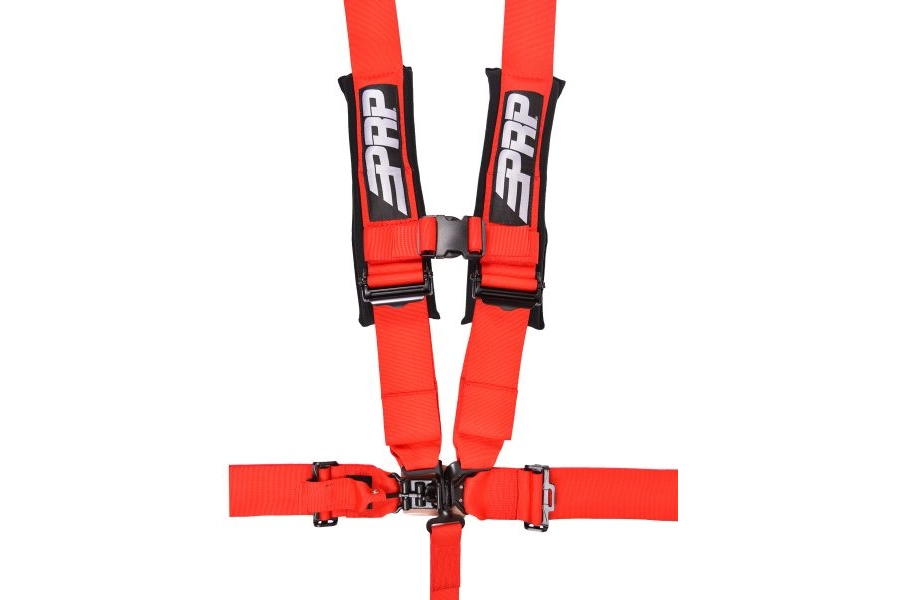 PRP 5 Point Harness Red 3in