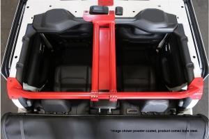 Rock Hard 4x4 Rear Cage Brace System - Bare - JT