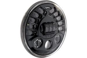 JW Speaker 8790 Series LED Hi/Lo Beam Headlight w/ Black Inner Bezel