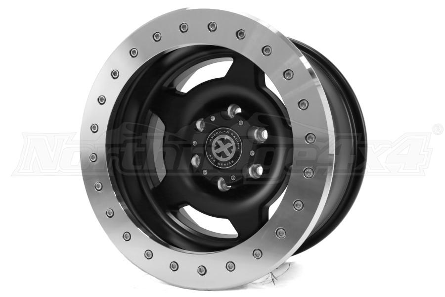 ATX Wheels AX756 Slab Wheel Satin Black 17x9 6x5.5 (Part Number:AX75679060738NF)