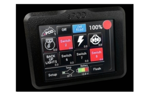 sPod 8 Switch Panel and SE System w/TouchScreen - TJ