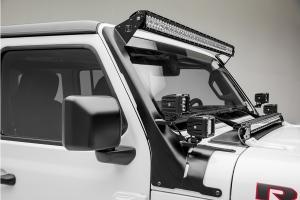 Zroadz Front Roof LED Kit w/ 50in Light Bar and 4 Pod Lights  - JT/JL
