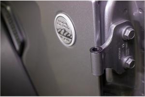 Kentrol Door Hinge Liners - Textured Black  - JT/JL 4Dr