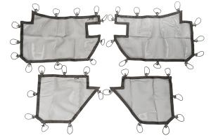 Rugged Ridge Full Set of Tube Door Covers (Part Number: )