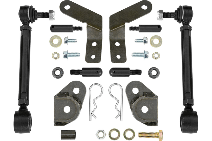 Rancho Performance Non-Rubicon Front Disconnect Sway Bar Link Kit (Part Number:RS62126B)