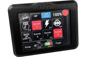 SPod Add-On Touchscreen for 8-Circuit Systems