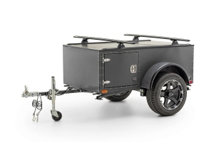 FreeSpirit Recreation Highway Sport Trailer w/ Rhino Vortex 65 Kit - Grey