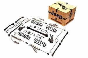 Mopar 4in Lift Kit w/Driveshaft & Fox Reservoir Shocks - JK 4dr