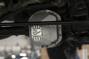 AFE Power Street Series Dana 30 Front Differential Cover - Raw  - JK/LJ/TJ Non-Rubicon