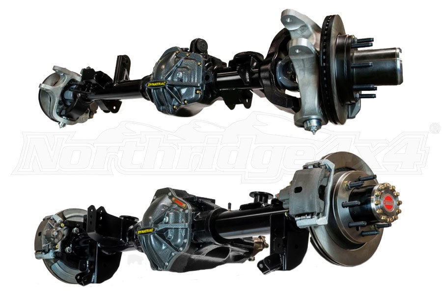 Dynatrac Hard Core Plus 60/60 Axle Set, Auburn Ected-Max, 5.38 (Part Number:JKHP-3X3002-F)