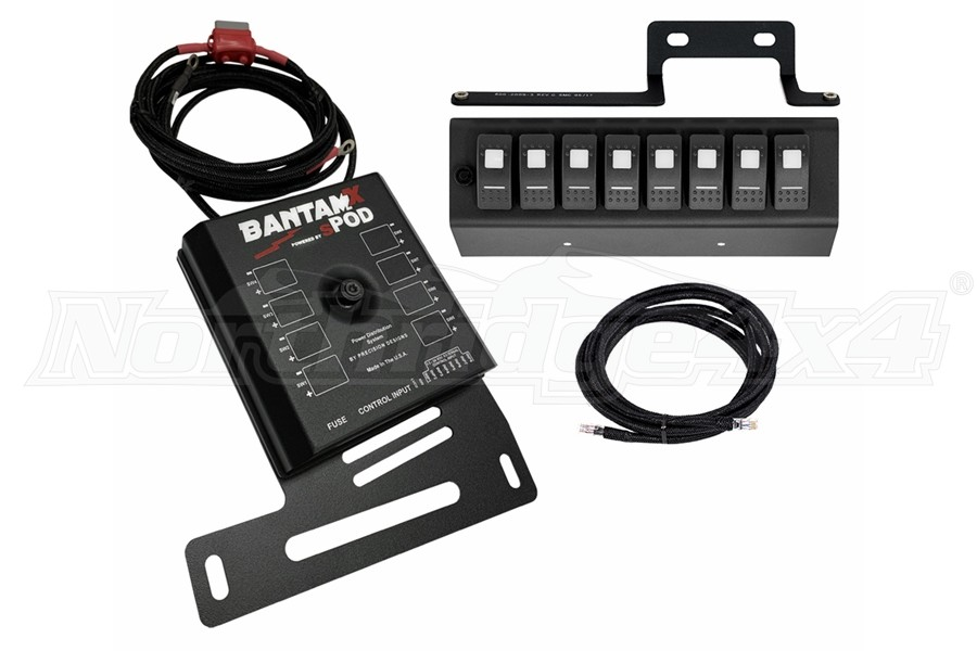 SPod BantamX w/LED Switch Panel, Amber - 09+ JK