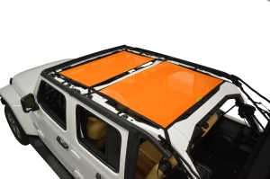 Dirty Dog 4x4 Sun Screen Front and Rear - Orange (Part Number: )