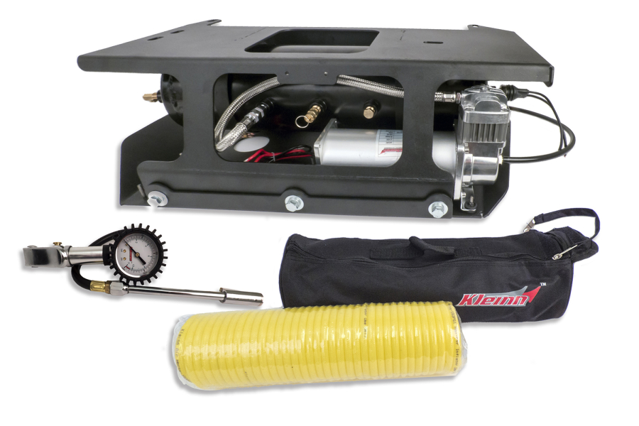 Kleinn Onboard Air System w/Air Compressor And Tire Inflator Kit - JK 4dr
