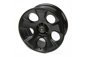 Rugged Ridge Drakon Black Satin Wheel 20x9 5x5 (Part Number: )