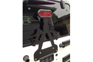 WD Automotive Fixed 3rd Brake Light Mount w/ LED Light (Part Number: )