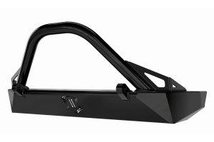 Icon Vehicle Dynamics Comp Series Front Bumper w/ Bar and Tabs - JK