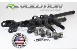 Revolution Gear D30 27-Spline Front Axle Kit - TJ/LJ Non-Rubicon