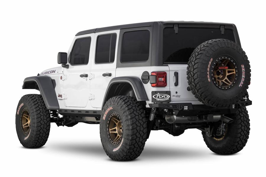 Jeep JL 4Dr Addictive Desert Designs Rock Sliders - Jeep ...