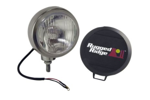 Rugged Ridge HID Fog Light Kit 5in Black (Part Number: )
