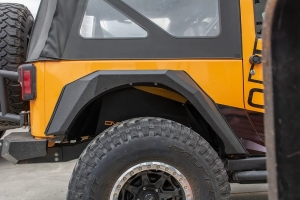 DV8 Bolt-On Armor-Style Fenders - Front/Rear - JK