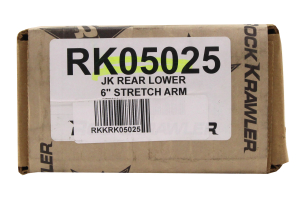 Rock Krawler Stretch Rear Lower Control Arm - JK 2dr