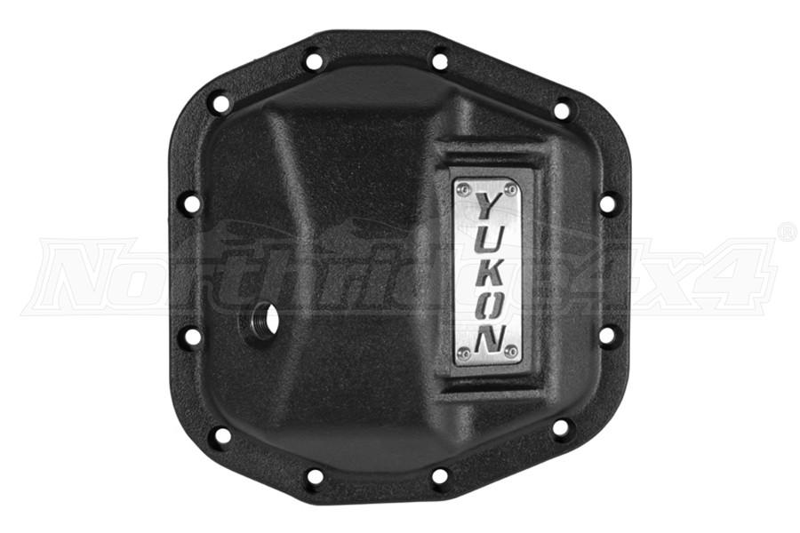 Yukon D44 Hardcore Rear Diff Cover, Black - JT/JL