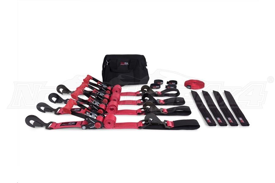 SpeedStrap Ultimate Off-Road 2in Tie-Down Kit, Red