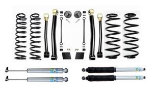 Evo Manufacturing 2.5in Enforcer Stage 3 Lift Kit w/ Bilstein Shocks - JL