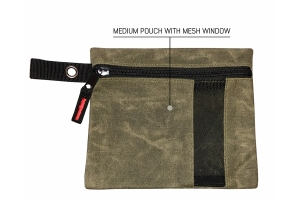 Overland Vehicle Systems Small Bags - Set of 3, Waxed Canvas
