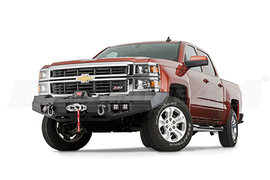 Warn Ascent Front Bumper  - Silverado 1500