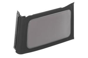 Mopar Tinted Soft Top Window, Passenger Side - Black Twill - JL 4dr