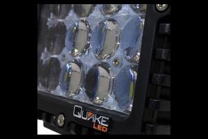 Quake LED 5in 4D Spot RGB Accent Work Light - 80watt