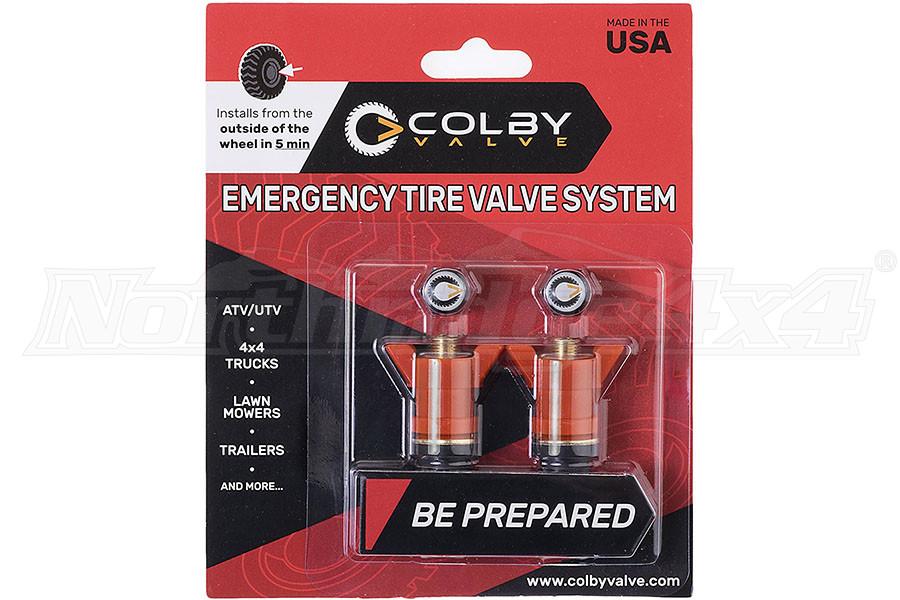 Colby Valve Emergency Valves Orange 2-Pack