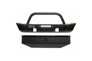 Icon Vehicle Dynamics Impact Series Front Bumper w/ Skid Plate - JT/JL