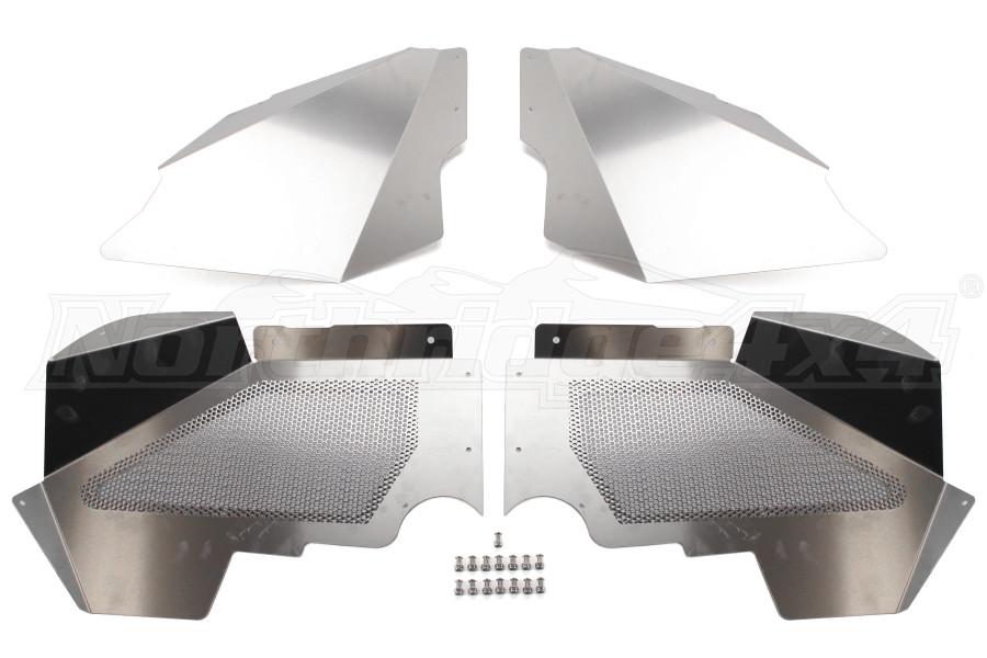 Crawler Conceptz Ultimate Series Aluminum Front Inner Fender Kit w/No Logo (Part Number:ULT-LN-002)