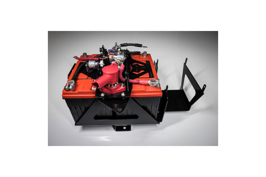 Genesis Offroad Dual Battery Kit 200 Amp Isolator - JK