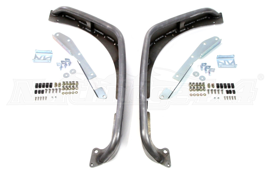 Poison Spyder Narrow Width Crusher Flares Front Steel  (Part Number:17-03-031)
