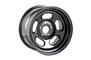 Rugged Ridge Black Steel Wheel Hub, 17x9 5x5 (Part Number: )