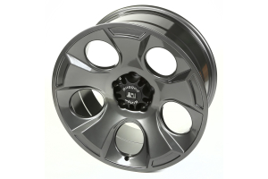 Rugged Ridge Drakon Gun Metal Wheel, 20x9 5x5 (Part Number: )