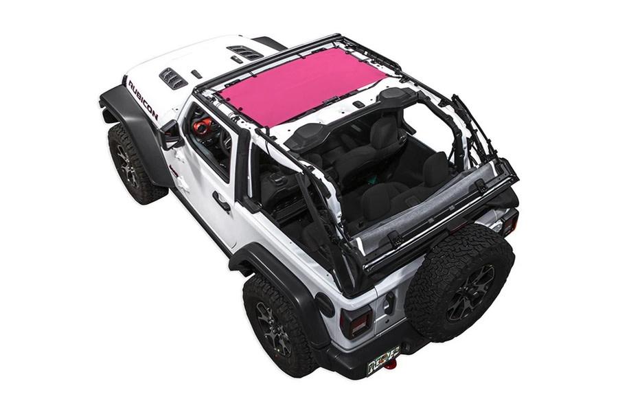 SpiderWebShade Bikini Top - Pink - JL 2Dr