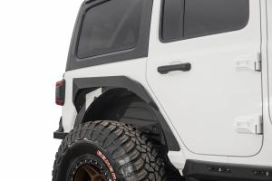 Addictive Desert Designs Rock Fighter Rear Fenders, Black  - JL