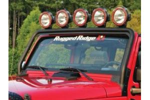 Rugged Ridge Windshield Light Bar Mount - JK